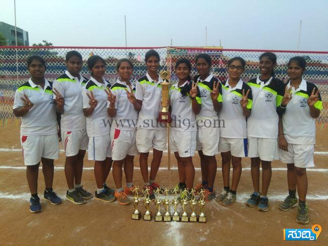 Ball badminton federation cup and south zone