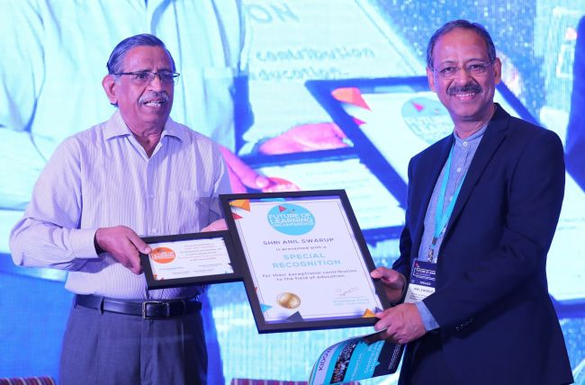 L_R-Chandrasekaran (Chairman of Board, Kidovators)_Anil Swarup (Former Secretary – School Education and Literacy, Ministry of HRD, GoI)