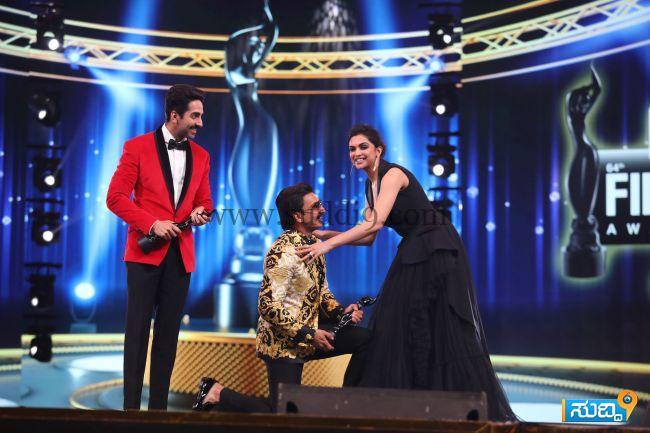 Critics' Award For Best Actor - Male - Ranveer Singh - Padmaavat