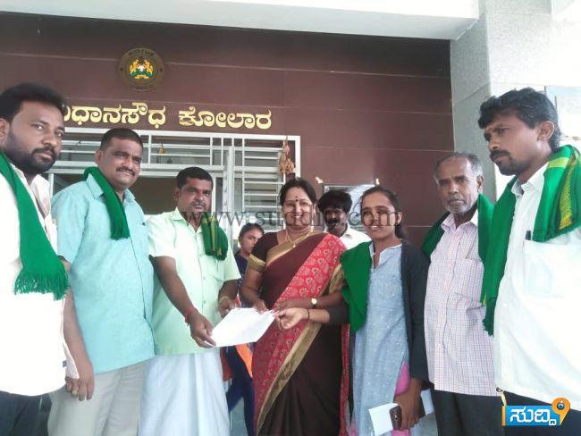 Raitha sangha dalita bethale meravanige manvi news 12-06-2019