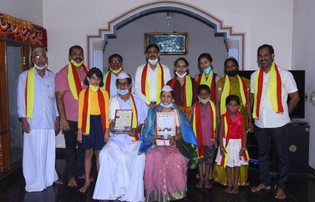 karunakar hegde honoured 1